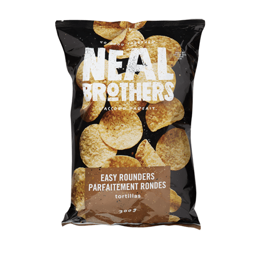 Tortillas Chip, Easy Rounders, Neal Brothers