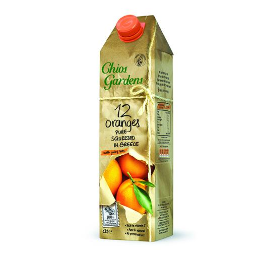 All Natural Juice, Orange with Juicy Pulp, Not From Concentrate