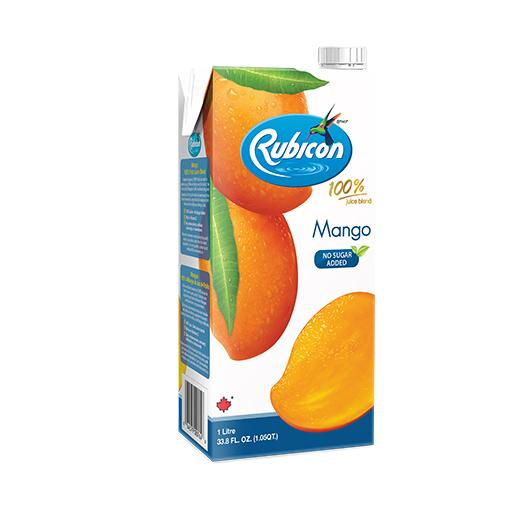 Natural Mango Juice, 100% Juice Blend, Rubicon