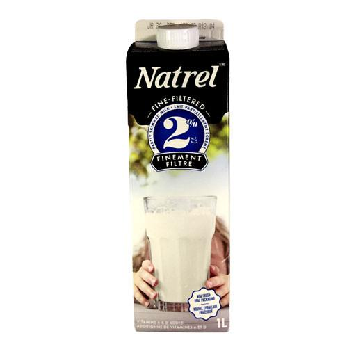 Milk, 2% Fine Filtered - Natrel 1L