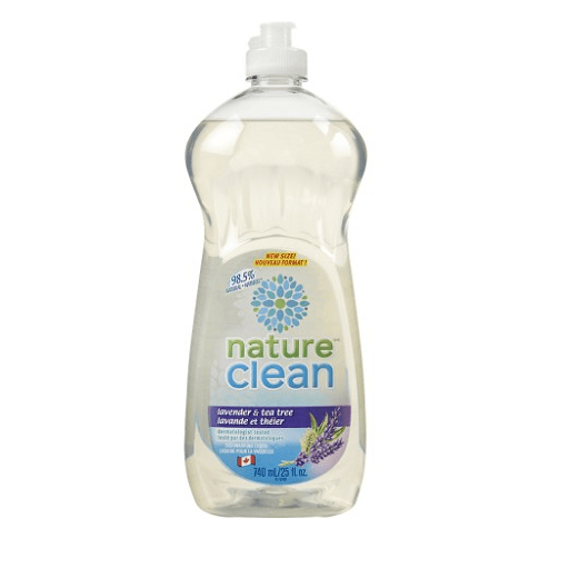 Nature Clean Dishwashing Liquid, Lavender & Tea Tree