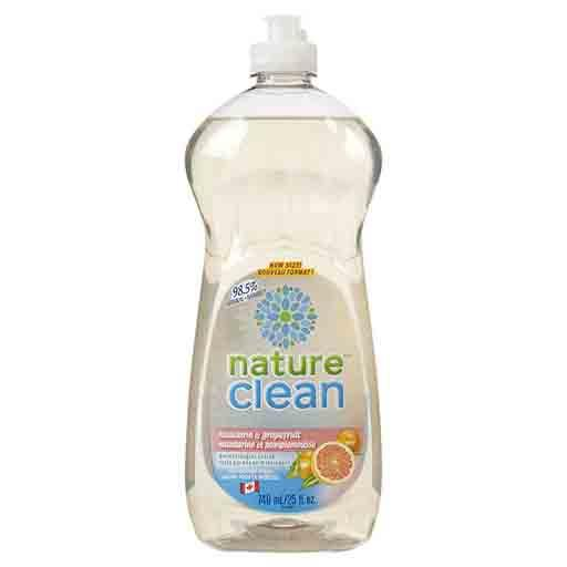 Nature Clean Dishwashing Liquid, Mandarin & Grapefruit