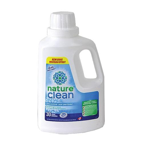 Nature Clean Liquid Detergent, Unscented