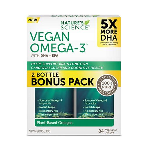 Nature's Science Vegan Omega-3