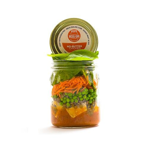 Meal in a Jar, No Butter Chicken