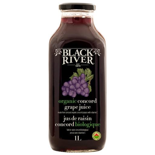 juice, organic concord grape 1L