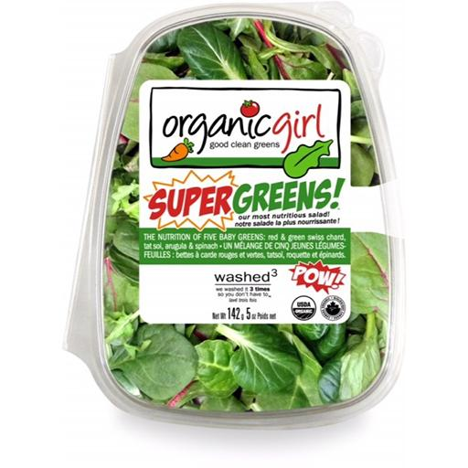 Packaged Salads, Super Greens, Organic Girl