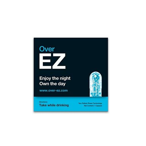 Over-EZ, Hangover by Alcohol Prevention Supplement