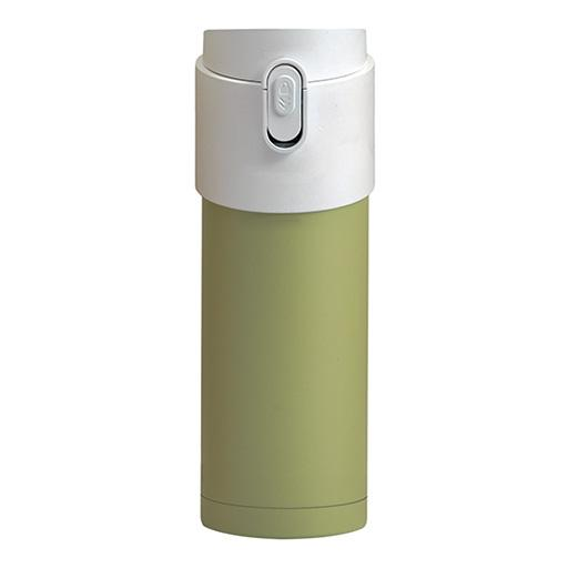 Pao Thermo Mug, Green with White Lid