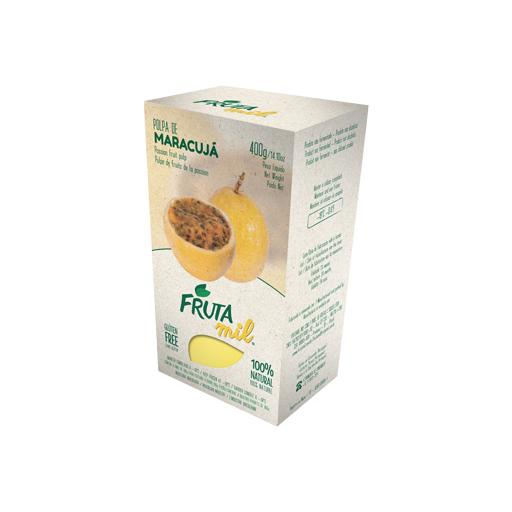 Fruit Pulp, 100% Natural, Frozen, Passion Fruit, Frutamil