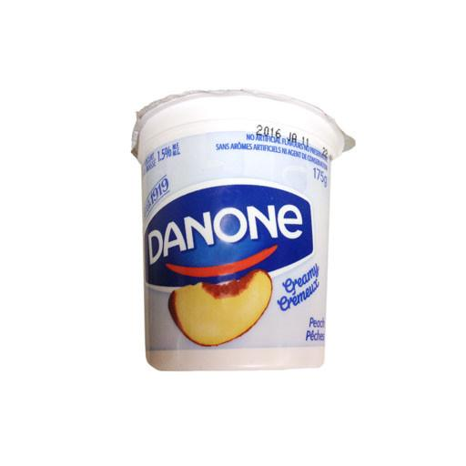 Yogurt, Creamy Peach - Danone - Penguin Fresh