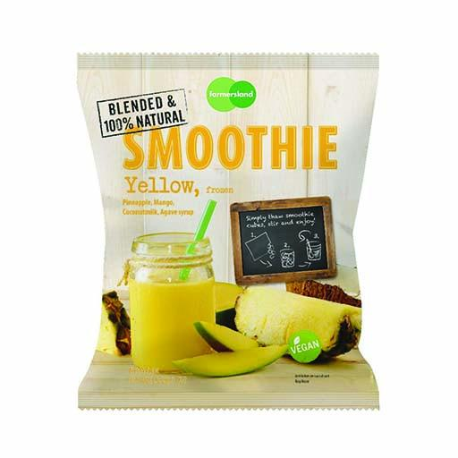 Smoothie Cube - Yellow, Frozen, Blended, 100% Natural
