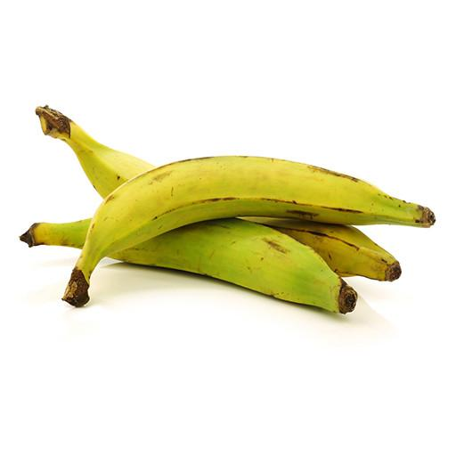 BANANAS, PLANTAINS, GREEN