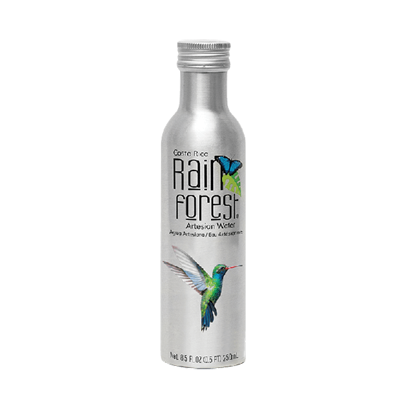 Rainforest Artesian Water, Aluminum Bottle, Small
