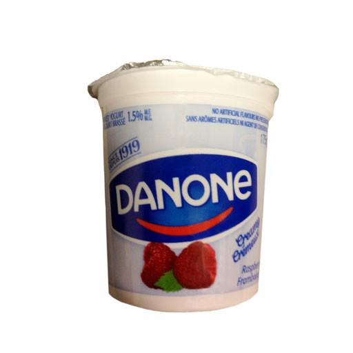 Yogurt, Creamy Raspberry - Danone - Penguin Fresh
