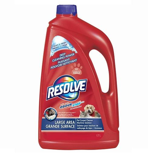 Resolve Pet Area Deep Cleaning Power