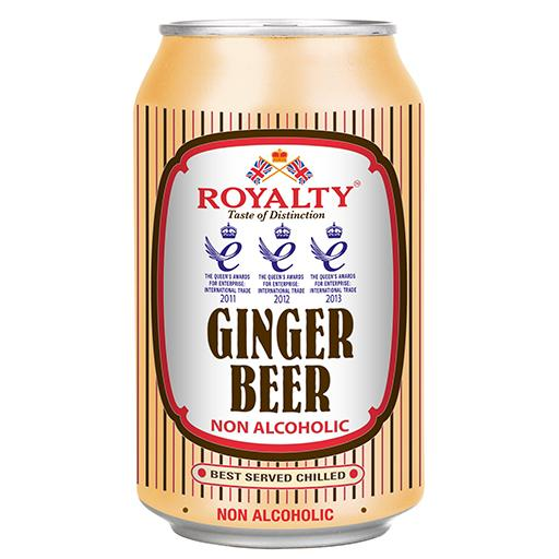 Ginger Beer, Non-Alcoholic, Royalty