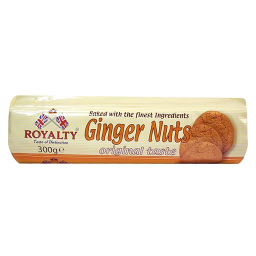 Ginger Nuts Biscuits, Royalty