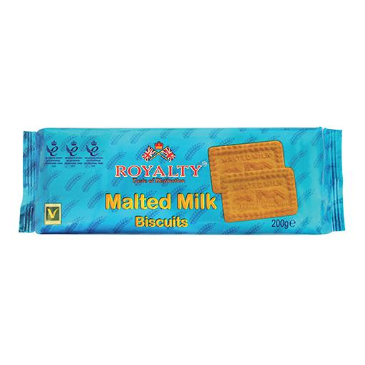 Malted Milk Biscuits, Royalty