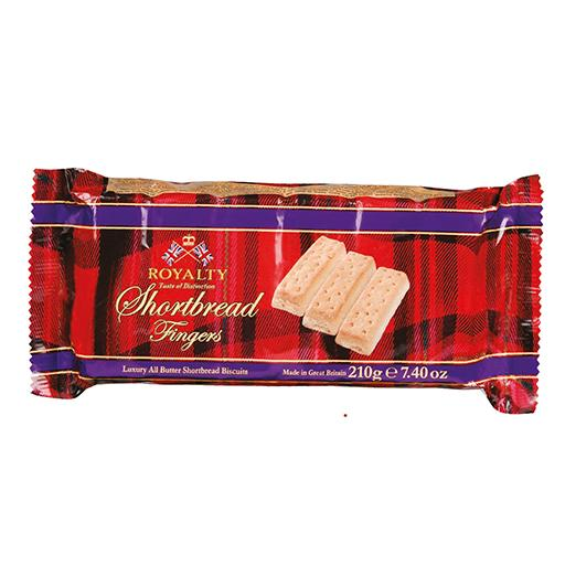 English Butter Shortbread Fingers, Royalty