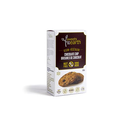 Cookie in Box, Chocolate Chip, Nut Free, Sweets from the Earth
