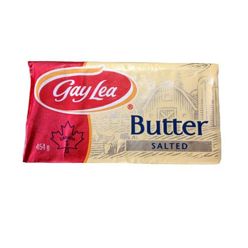 Butter, Salted - Gay Lea 454g