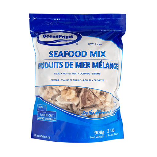 Seafood Mix Medley, Frozen