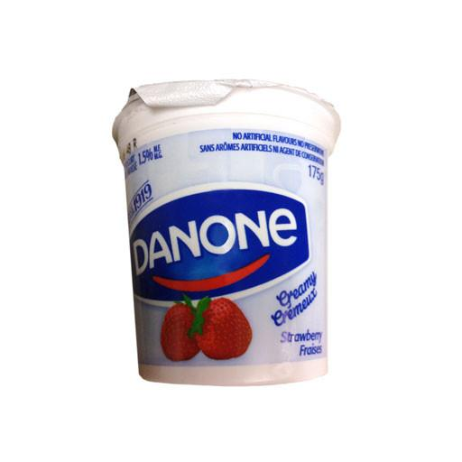 Yogurt, Creamy Strawberry - Danone - Penguin Fresh