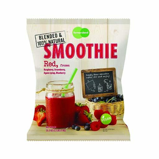 Smoothie Cube - Red, Frozen, Blended, 100% Natural