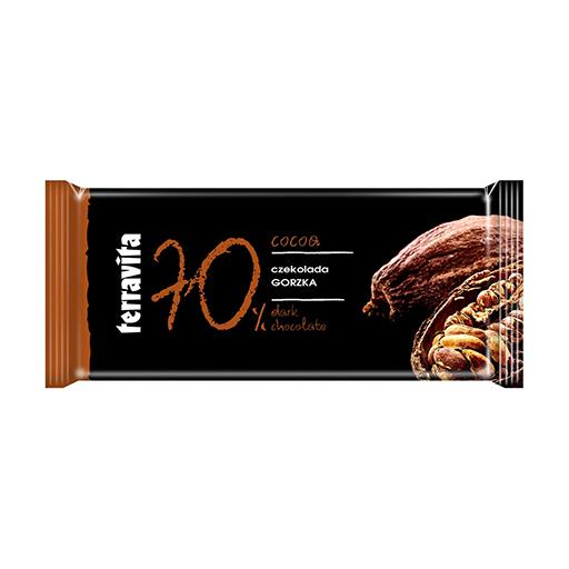 70% Dark Chocolate, Terravita Bar