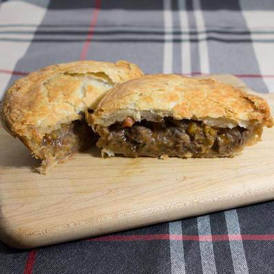 Healthy Butcher Individual Pot Pie, Braised Game
