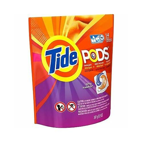Tide Pods, Detergent, Spring Meadow