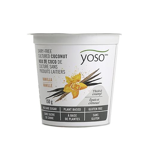 Dairy-Free Cultured Coconut Yogurt, Vanilla, YOSO