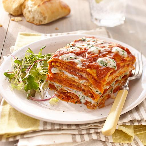Pretto Lasagna, Vegetable Lasagna, Family Size