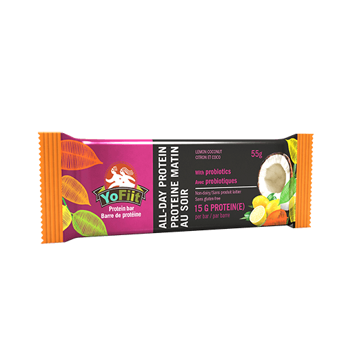 All-Day Protein Bar, Lemon Coconut