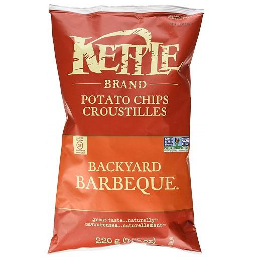 Kettle Cooked Potato Chip, Backyard Barbeque, Kettle Foods