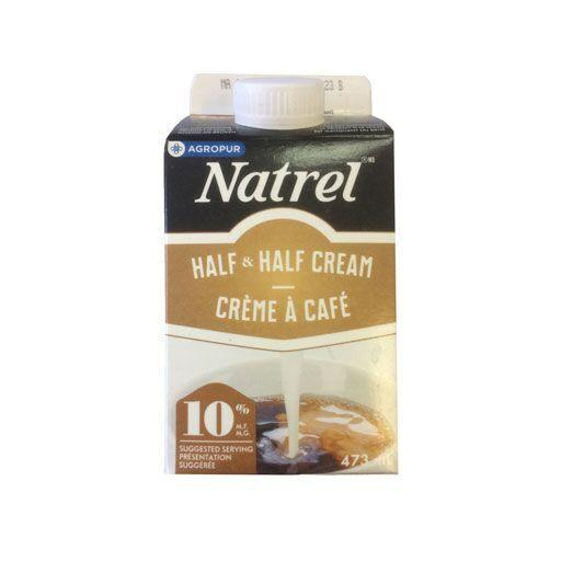 Half & Half Cream, 10% - Natrel 473ML