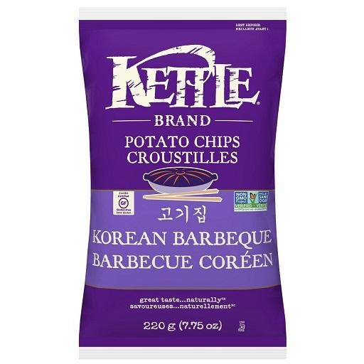 Kettle Cooked Potato Chip, Korean BBQ, Kettle Foods