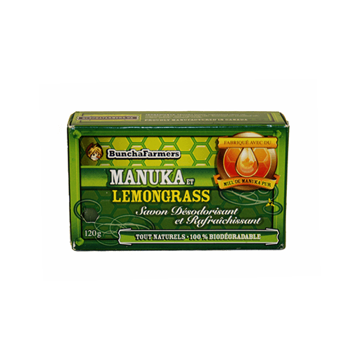 Soap Bar, Manuka Honey & Lemongrass, All Natural
