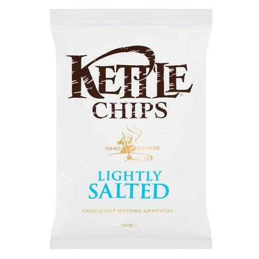 Kettle Cooked Potato Chip, Lightly Salted, Kettle Foods
