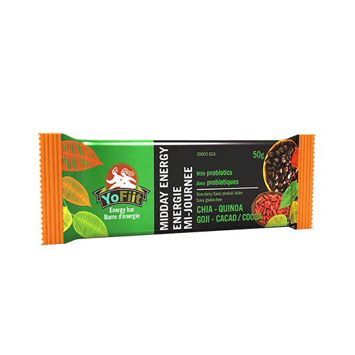 Midday Energy Bar, Chocolate Goji