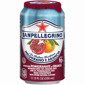 San Pellegrino, Pomegranate & Orange