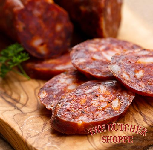 Salami, Whole Piece, Butcher Shoppe