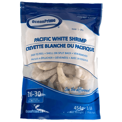Pacific White Shrimp, 26-30 Pieces, Frozen