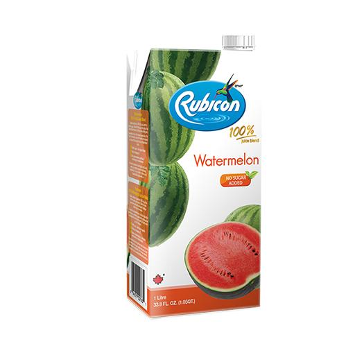 Natural Watermelon Juice, 100% Juice Blend, Rubicon