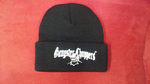 Embroidered Roll Up Beanie