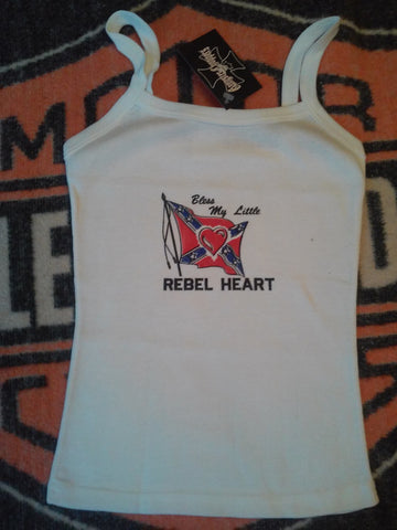 Ladies Rebel Heart Tank Top