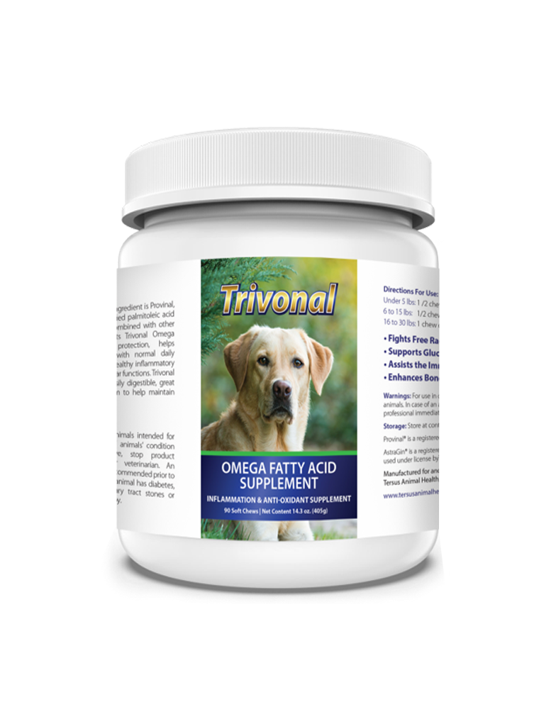 Trivonal Omega Fatty Acid Supplement Pets