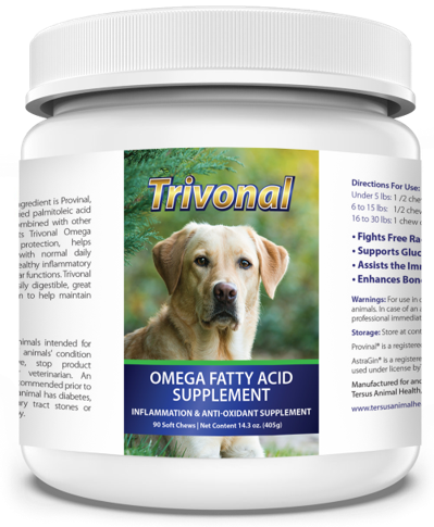 Trivonal Omega 7 for dogs