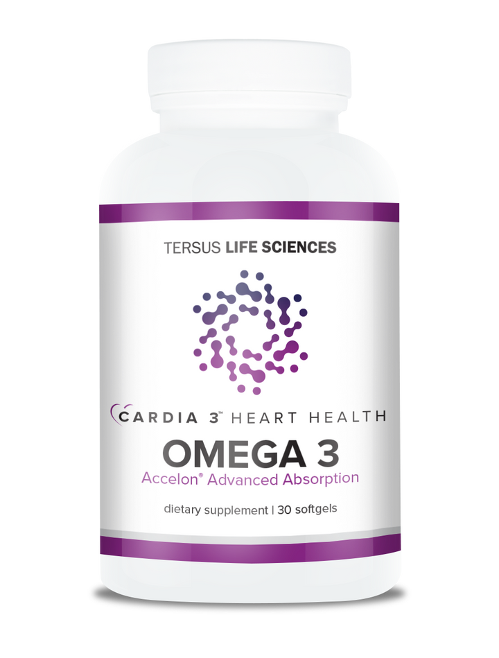 Cardia 3 Omega 3 With Accelon for Heart Health
